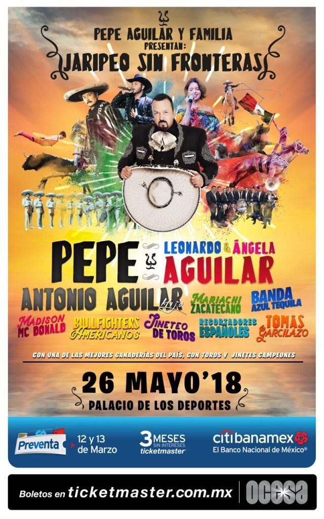 Pepe Aguilar y Familia: Jaripeo sin fronteras 6