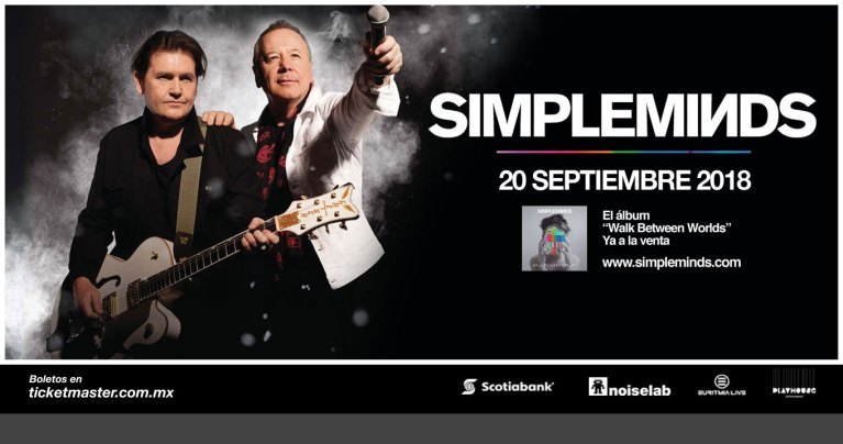 Simple Minds por primera vez en México 3