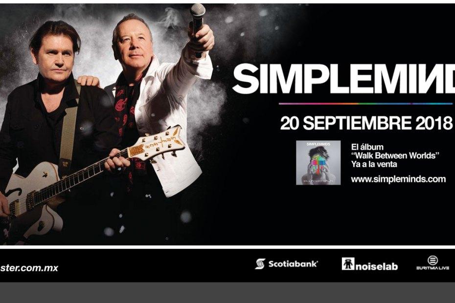 Simple Minds por primera vez en México 6