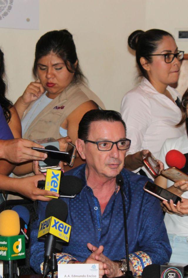 Edmundo Enciso, Agente Aduanal y presidente de la Comisión de Comercio Exteriorde la COPARMEX CDMX.