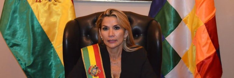Jeanine Áñez presidenta interina de Bolivia 1