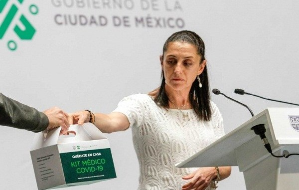 Para prevenir COVID-19, Claudia Sheinbaum anuncia kits sanitarios 1