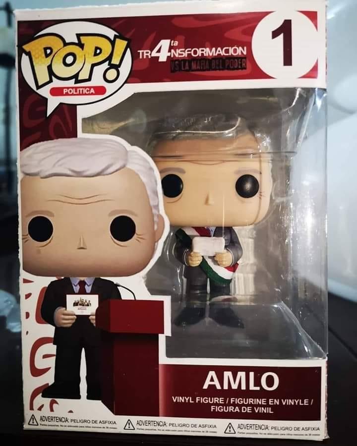 Ya está a la venta Funko Pop de AMLO 1