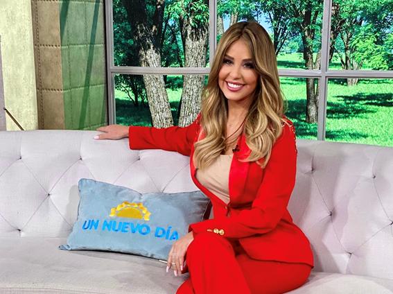 """MYRKA DELLANOS HACE SU REGRESO A LA TELEVISIÓN EN UN """"UN NUEVO DÍA"""" 1"""