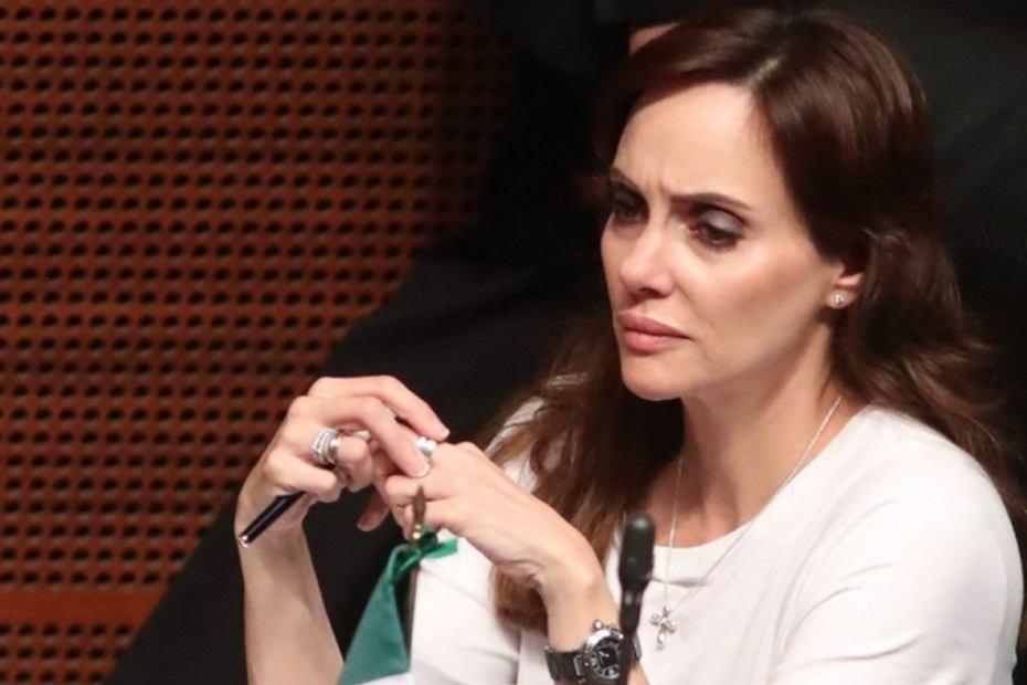 """Por diferencias de criterio"", Lilly Téllez deja bancada de Morena 1"