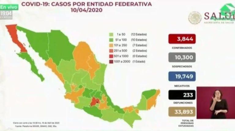México supera las 200 muertes por COVID-19 1