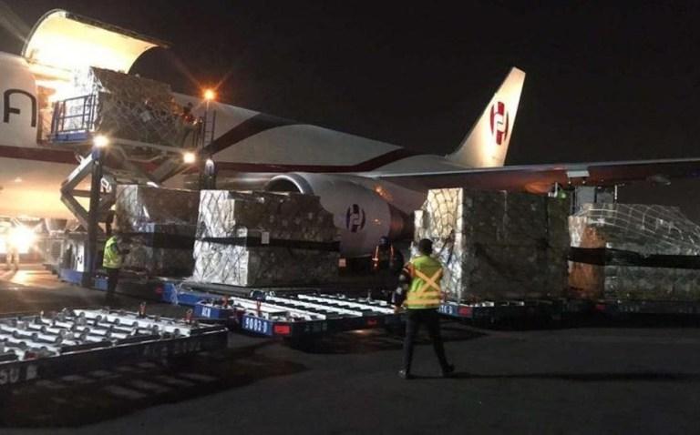 China dona a México 50 mil kits de prueba para COVID-19 y respiradores 1