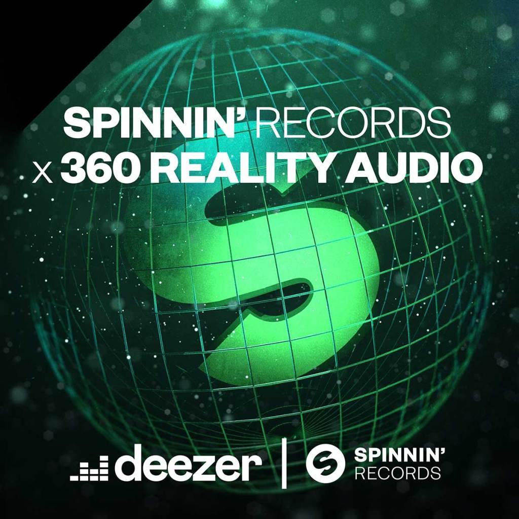 Deezer y Spinnin' Records hacen que la música dance cobre vida con 360 Reality Audio 1