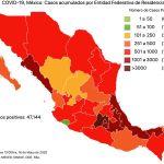 #COVID19 en México 16 de mayo 2020, casos defunciones y tasa de incidencia nacional y por estado 7