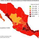 #COVID19 en México 18 de mayo 2020, casos defunciones, activos y tasa de incidencia nacional y por estado 5