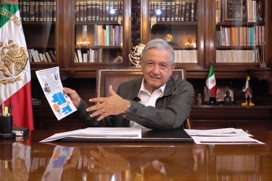 López Obrador anuncia que el miércoles presenta Plan de Reapertura Económica 1