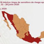 #SemáforoNaranaja 17 estados del 22 al 28 de junio en México, conoce los indicadores. 7