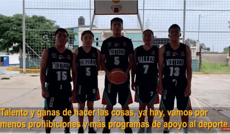 «Vamos por menos prohibiciones y más programas de apoyo al deporte»: niños Trikis a López-Gatell