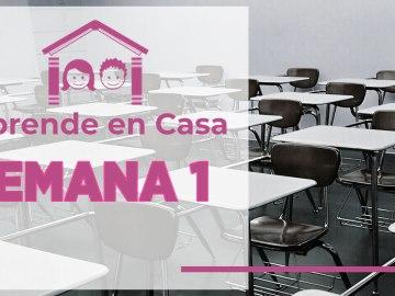 clases de la semana 1 de aprende en casa