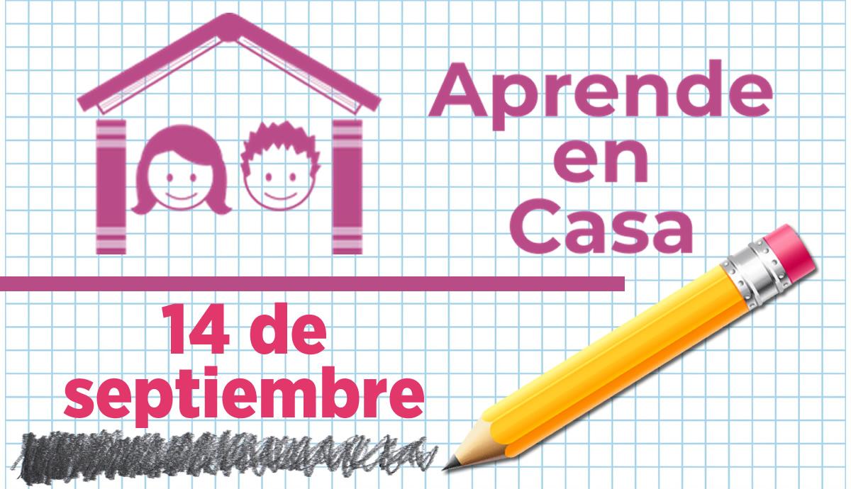 Aprende en Casa 14 de septiembre