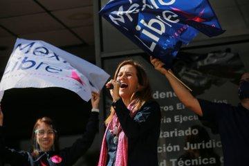 """Zavala y Calderón impugnan negativa del INE a México Libre como partido: """"se nos persigue desde Palacio Nacional"""" 1"""