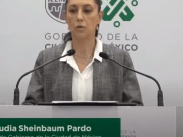 Claudia Sheinbaum señala a la vicepresidenta de GIMgroup como responsable de financiar la toma de CNDH 5