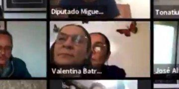 """""""Tuve un error técnico, pero de ninguna manera es una simulación de trabajo"""": diputada de Morena  tras ser acusada de fingir su presencia en sesión virtual del Congreso 12"""