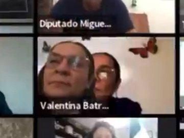 """""""Tuve un error técnico, pero de ninguna manera es una simulación de trabajo"""": diputada de Morena  tras ser acusada de fingir su presencia en sesión virtual del Congreso 10"""