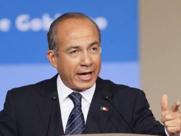 """Felipe Calderón califica como """"injusto"""" al proyecto que propone no dar el registro a México Libre 9"""