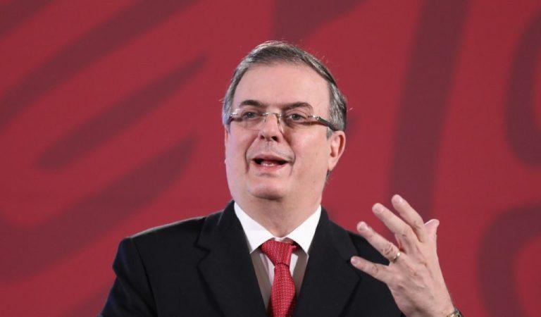 Por bloqueo en el Senado, suspenden comparecencia de Marcelo Ebrard