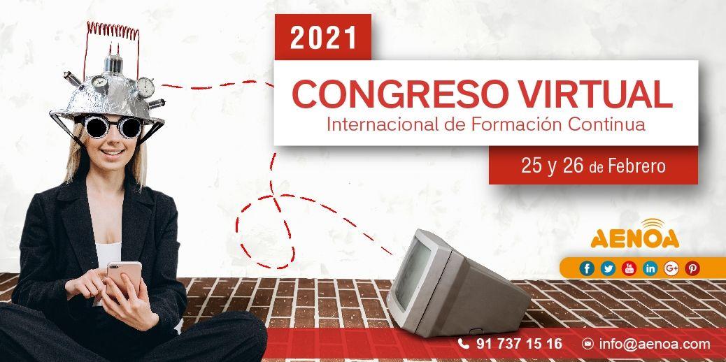 AENOA y Akency por el Congreso Virtual Internacional de Formación Continua 2