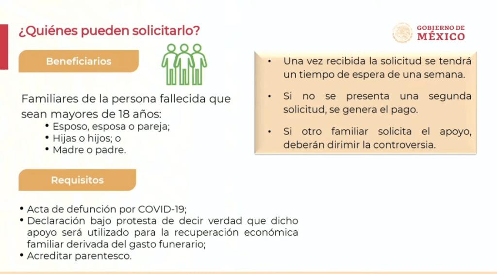 Gobierno anuncia apoyo económico para gastos funerarios a familias de víctimas de Covid-19 6