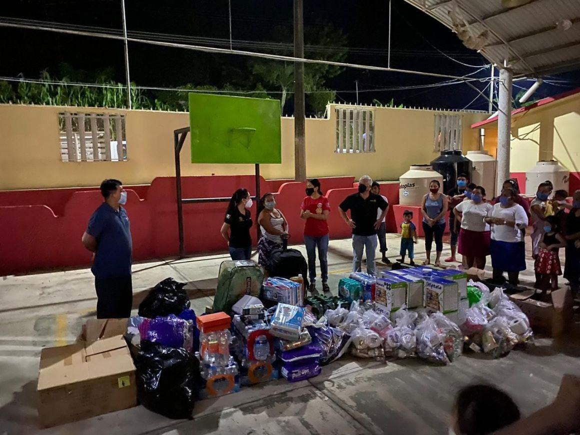Cotemar realiza donativo en beneficio de damnificados de Tabasco
