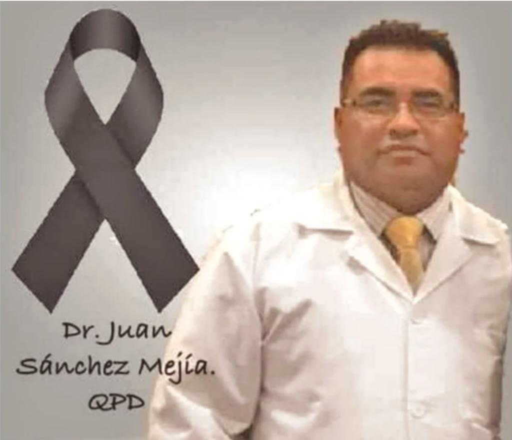 """""""Estamos hartos de tanta estupidez de la gente incrédula, indiferente"""": médicos de Toluca lamentan muerte por Covid de su colega Juan Sánchez Mejía 4"""