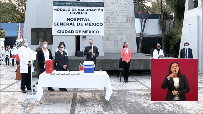 Inicia campaña de vacunación contra Covid-19 1