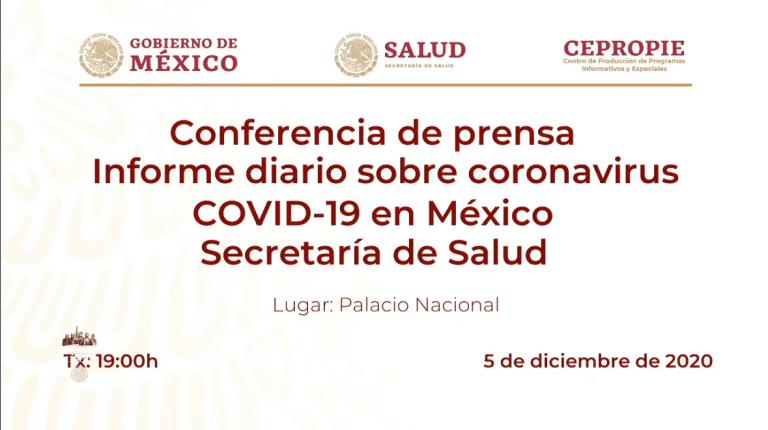 México alcanza las 109 mil 456 muertes por Covid-19 1