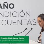 A dos años de gobierno, Claudia Sheinbaum rinde informe 5
