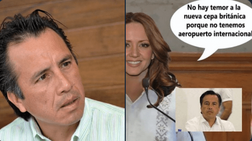 """""""Nosotros no tenemos ningún aeropuerto que reciba pasaje de Inglaterra"""", gobernador de Veracruz. Lo comparan con Andrea Legarreta 1"""