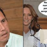 """""""Nosotros no tenemos ningún aeropuerto que reciba pasaje de Inglaterra"""", gobernador de Veracruz. Lo comparan con Andrea Legarreta 4"""