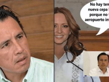 """""""Nosotros no tenemos ningún aeropuerto que reciba pasaje de Inglaterra"""", gobernador de Veracruz. Lo comparan con Andrea Legarreta 6"""