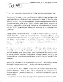 CNDH sepulta caso Iguala 4