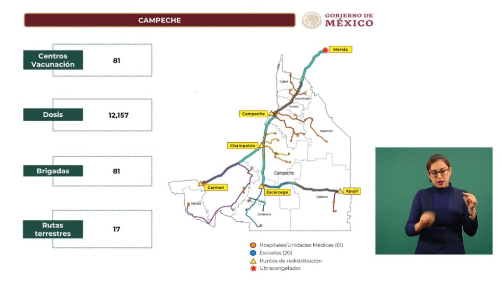 Gobierno presenta plan de vacunación contra Covid-19 para maestros en Campeche 5