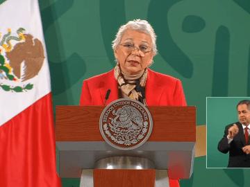 Agradece Sánchez Cordero muestras de apoyo y solidaridad hacia AMLO 7