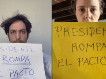"""""""Presidente rompa el pacto"""", exigen a AMLO en redes sociales por el caso Salgado Macedonio 1"""