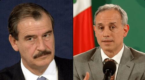 """""""Por irresponsable y engañador"""": Vicente Fox reaccionó al contagio de López-Gatell a Covid-19"""