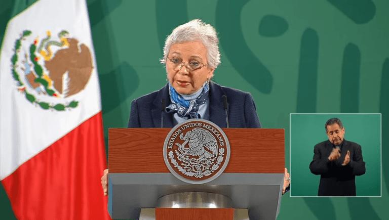 """""""Yo no tengo ninguna expectativa de esa naturaleza""""; así rechaza Sánchez Cordero buscar la presidencia en el 2024 1"""