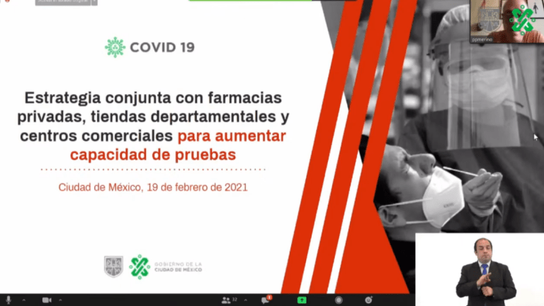 Farmacias, tiendas departamentales y centros comerciales realizarán pruebas rápidas de Covid-19 gratuitas 1