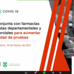 Farmacias, tiendas departamentales y centros comerciales realizarán pruebas rápidas de Covid-19 gratuitas 10