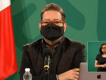 López-Gatell presentó problemas de oxigenación por Covid-19 12