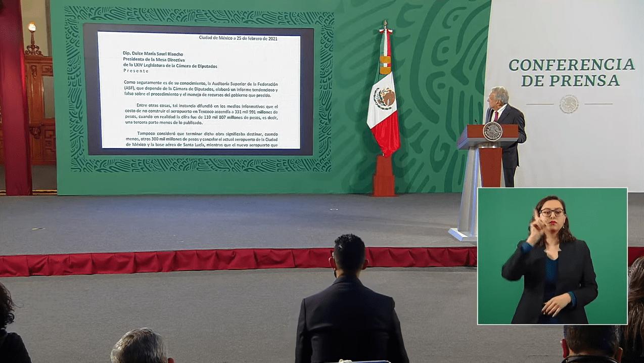 """AMLO pide investigar informe """"politiquero"""" de Auditoría Superior de la Federación"""