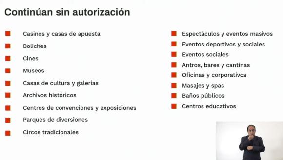 Estas son las las actividades que siguen sin autorización para operar en CDMX 5
