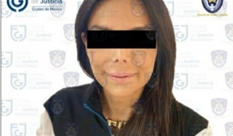 Fue detenida Diana Sánchez Barrios, líder de los comerciantes del Centro Histórico (video)