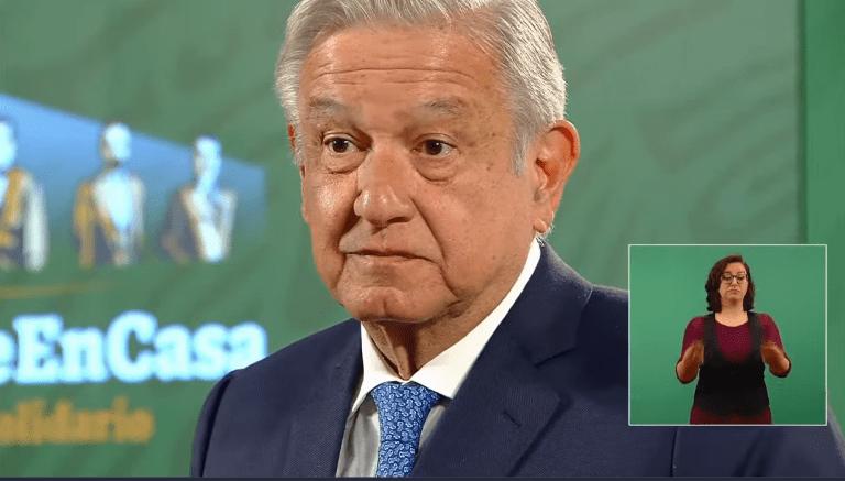 """""""Al parecer no hay relación entre la vacuna y el fallecimiento de la señora en Hidalgo"""": AMLO 1"""