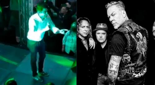 Candidato del PVEM a la presidencia de Tamaulipas, promete concierto gratuito de Metallica, en caso de ganar
