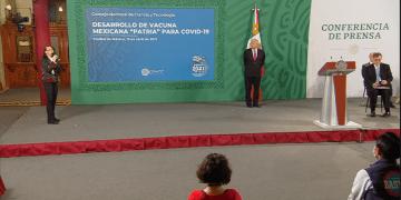 """""""Patria"""", la vacuna mexicana contra Covid-19 iniciará pruebas en humanos: Conacyt 10"""